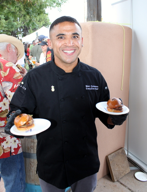 Chef Marc Quiñones - MÁS Tapas y Vino (Albuquerque, NM)
