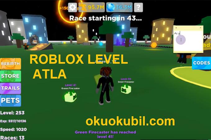 Roblox Legends Of Speed Para + Level Atlama Hilesi İndir