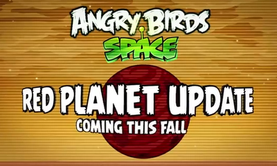 Angry Birds Space Red Planet Update