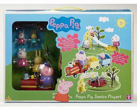 eeffafdd658 A great gift for girls or boys are Peppa Pig toys