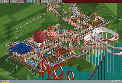 Videojuego RollerCoaster Tycoon