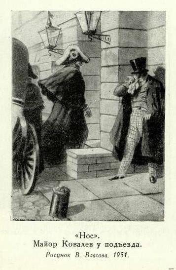 """Краткое содержание """"Нос"""" Гоголя, краткий пересказ, повесть в сокращении"""
