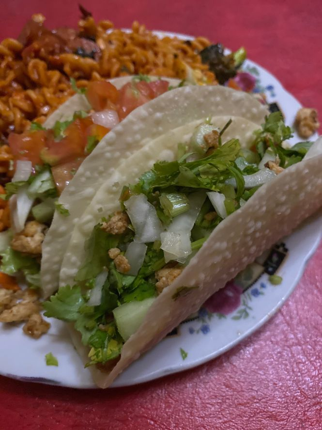 Easy and delicious chicken tacos
