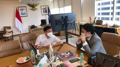 Andrei Angouw Sampaikan Rencana Pembangunan Pasar Tematik Wisata ke Wamendag