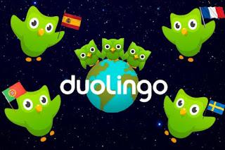aplikasi belajar online duolingo