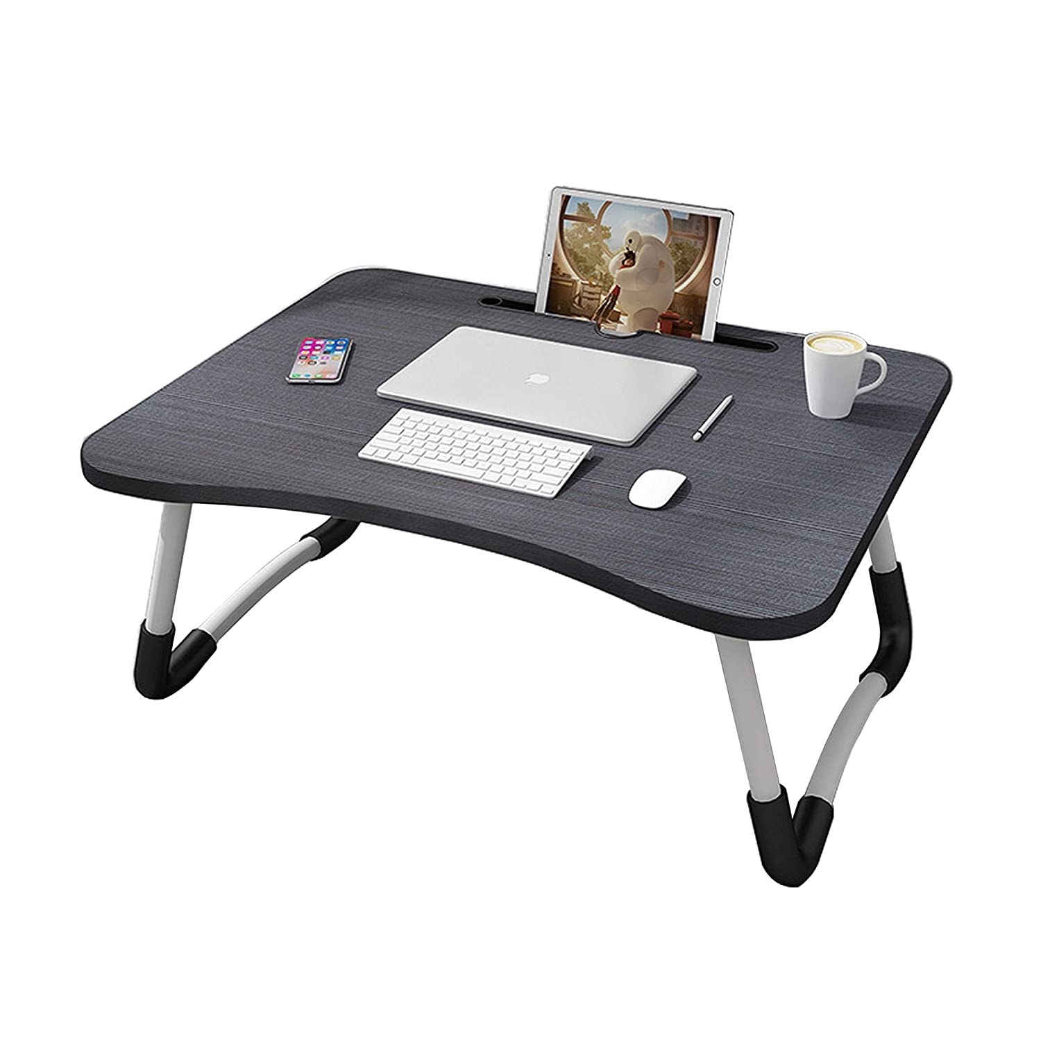 Laptop Table with Dock Stand/Study Table/Bed Table/Foldable and