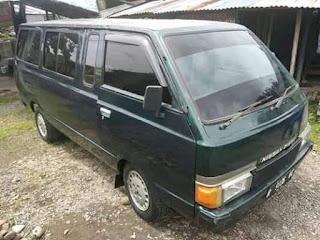 Rare Item Nissan Vanette C20 Tahun 1983 Di Grup Sejarah Transportasi