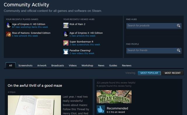 Komunitas Grup Steam