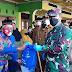 Bersama Wakil Bupati, Dandim 0824/Jember Berikan Bantuan Beras Terhadap 160 Warga Rentan Dampak Sosial Covid 19