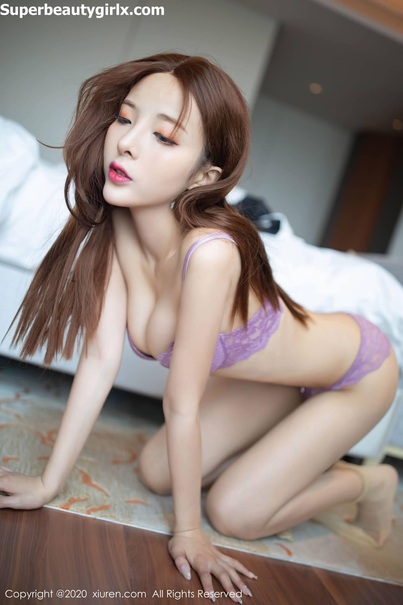 XIUREN-No.2678-Chen-Xiao-Miao-Superbeautygirlx.com