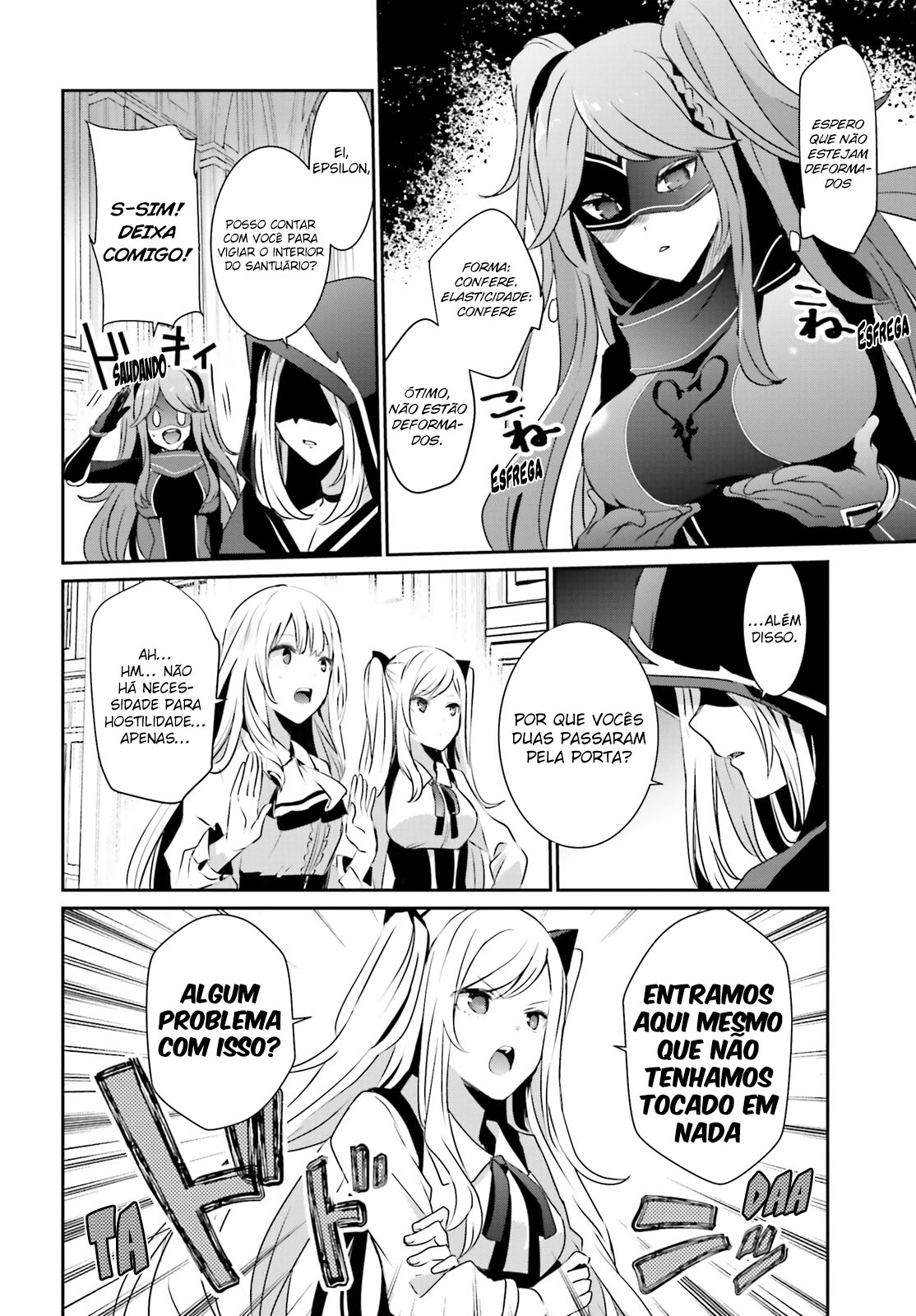 Kage no Jitsuryokusha ni Naritakute / The Eminence In Shadow Mangá Online Capítulo 17 em PT-BR