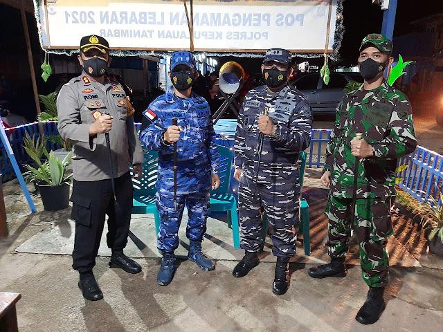TNI-Polri Apresiasi Umat Muslim Tanimbar Taat Prokes Idul Fitri 1442 H