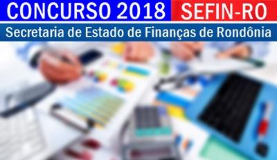 Apostila Concurso SEFIN-RO 2018