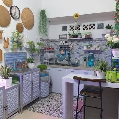 Desain dapur minimalis 2x2  penataan yang elegan