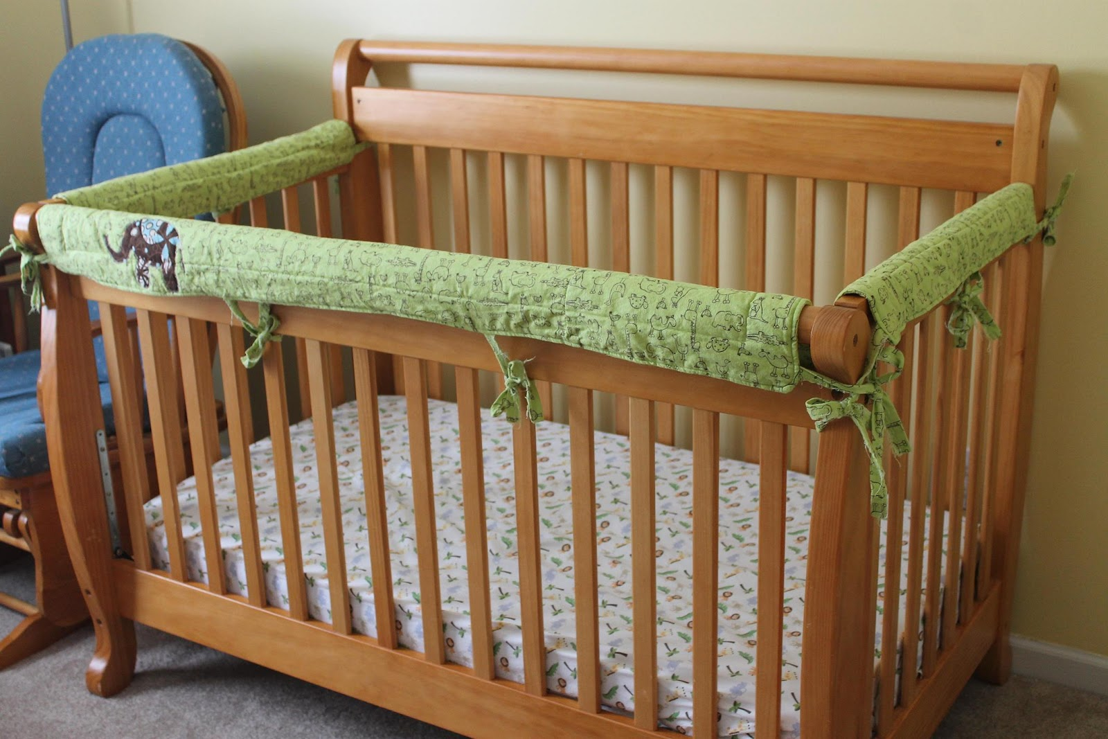 Lilyquilt Crib Rail Teething Bumpers Pattern And Tutorial