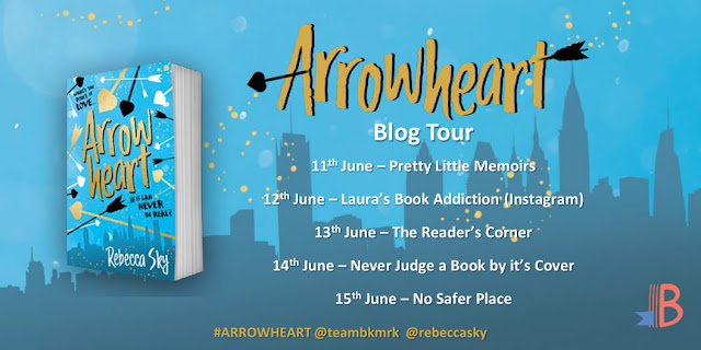 Guest Post + Review: Arrowheart by Rebecca Sky
