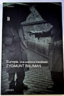 """Europa. Una aventura inacabada"" - Z. Bauman"