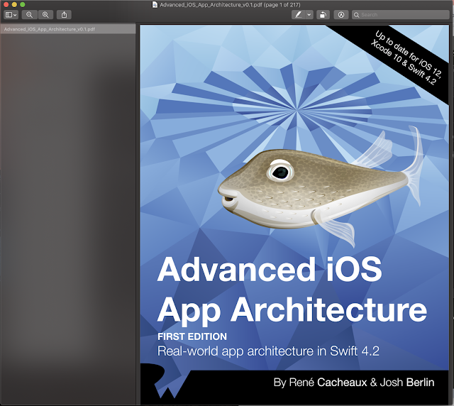Advanced iOS App Architecture Ray Wenderlich Books Update IOS 12, Xcode 10 And IOS 12