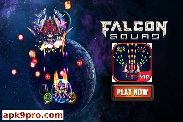 Galaxy Shooter : Falcon Squad Premium v2.5 Apk File size 89 MB for android