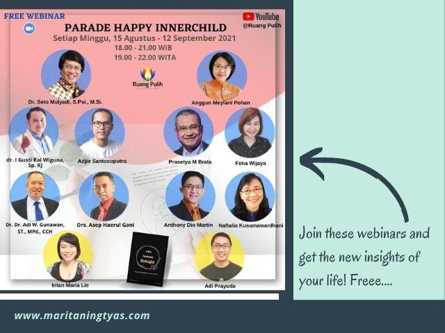 inner child healing parade by ruang pulih