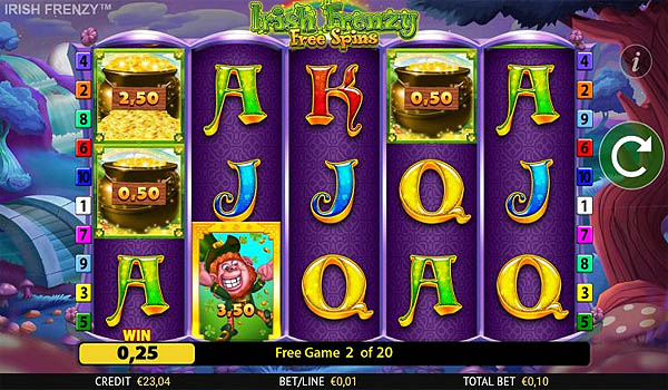 Main Slot Gratis Indonesia - Irish Frenzy (Blueprint Gaming)