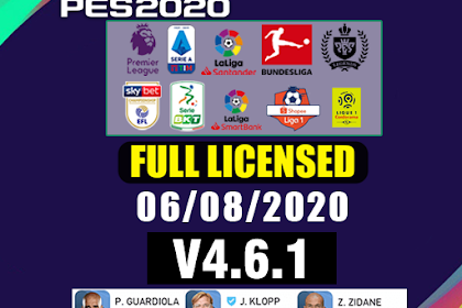 PATCH PES 2020 FULL LICENSED | IDSPHONE V4.6.1