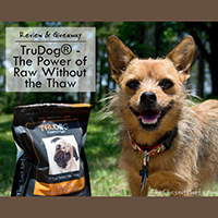 Trudog dog food giveaway