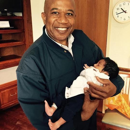 c Kenneth Okonkwo shares photos of his new baby boy