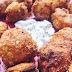 'Alitas' de coliflor al horno