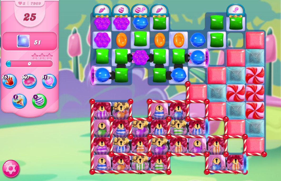 Candy Crush Saga level 7969