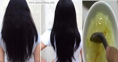 receita caseira para alisar cabelo