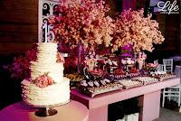 festa 15 salão boa vista da associação leopoldina juvenil em porto alegre com organização projeto e cerimonial de life eventos especiais mesa de doces e bolo