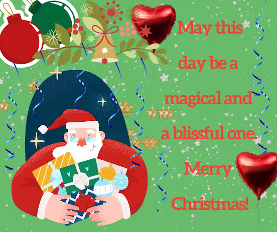 Christmas captions
