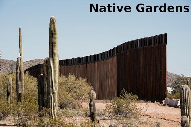 Border wall between USA and Mexico