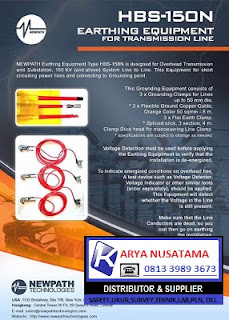 Jual NEWPATH Grounding Set HBS 150KV di Malang
