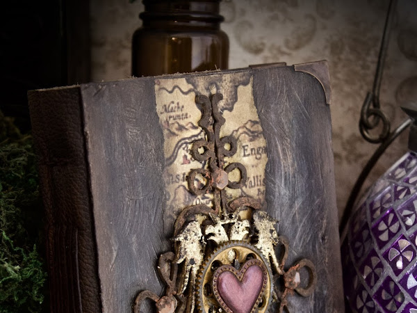 Liber de Somniis - handmade journal