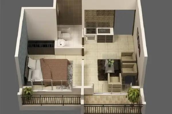 Tips Memilih Gambar Rumah Minimalis Terbaru - Desain rumah minimalis type 21