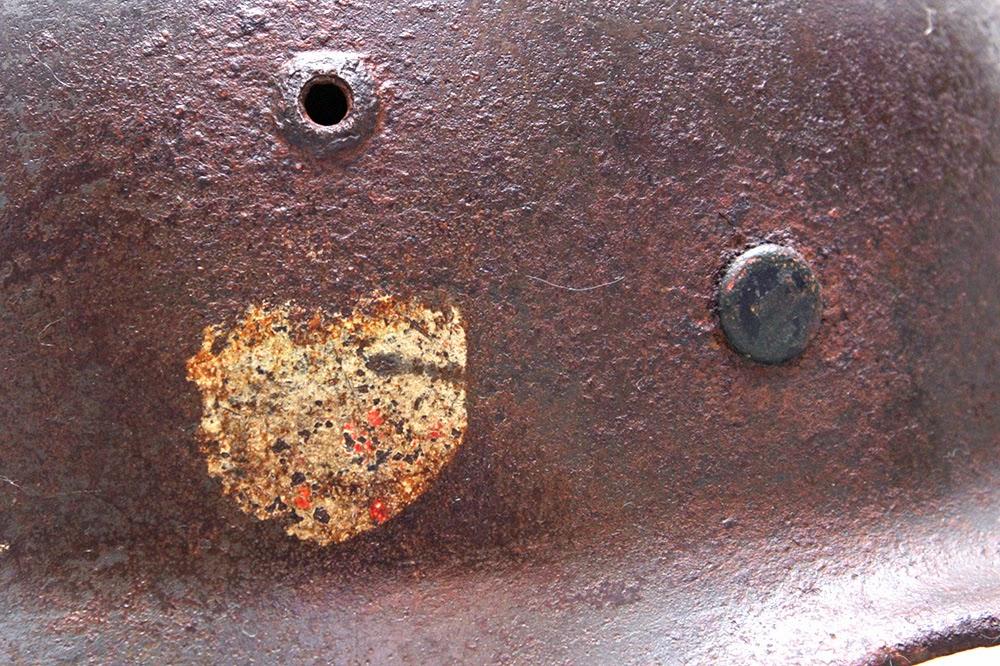 decal elmetto tedesco M35 Luftwaffe acido ossalico