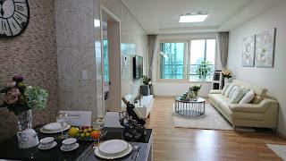 Phòng khách căn hộ Booyoung