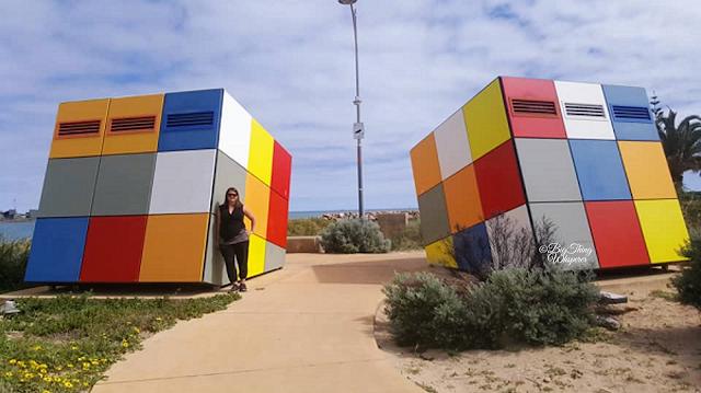 BIG Rubik Cube Toilet | Geraldton