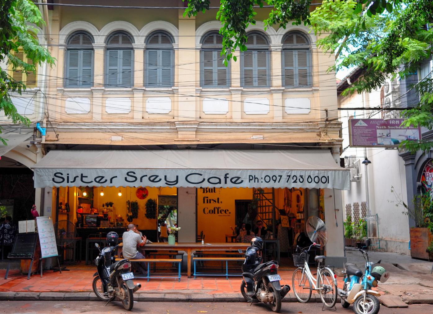 sister srey cafe, siem reap, cambodia