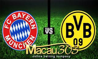 Prediksi Judi Bola Bayern Munchen vs Dortmund 27 April 2017