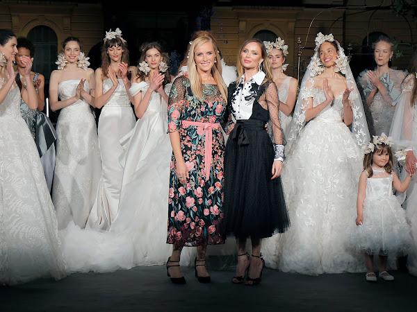 Desfile Marchesa en Valmont Barcelona Bridal Week - Colección 2020