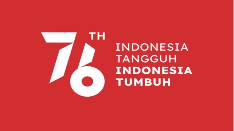logo dan tema hut republik indonesia ke 76