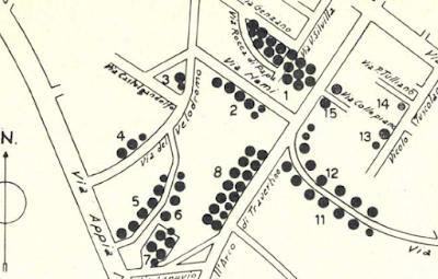 Borghetto del Velodromo mappa