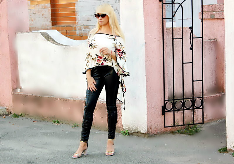 ZAFUL Haul: Off The Shoulder Floral Blouse and  Puff Sleeve Striped Blouse. БЛУЗЫ / обзор, отзывы, фото