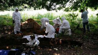 Hallan fosa común con 2.000 cadáveres sin registrar en Colombia