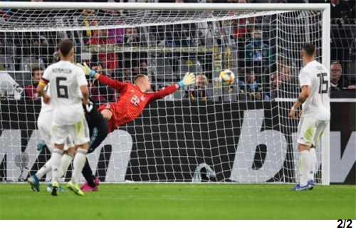 مباراة المانيا والأرجنتين
