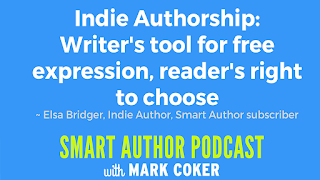 "image reads:  ""Indie Authorship:  Writer's tool for free expression, reader's right to choose"""