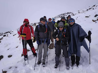 Share this peak experience with your friends and family or come alone. Damavand is always epic.  A big thanks to Morteza, who has a deep knowledge of the mountain and its various routes for accompanying the mountaineers.